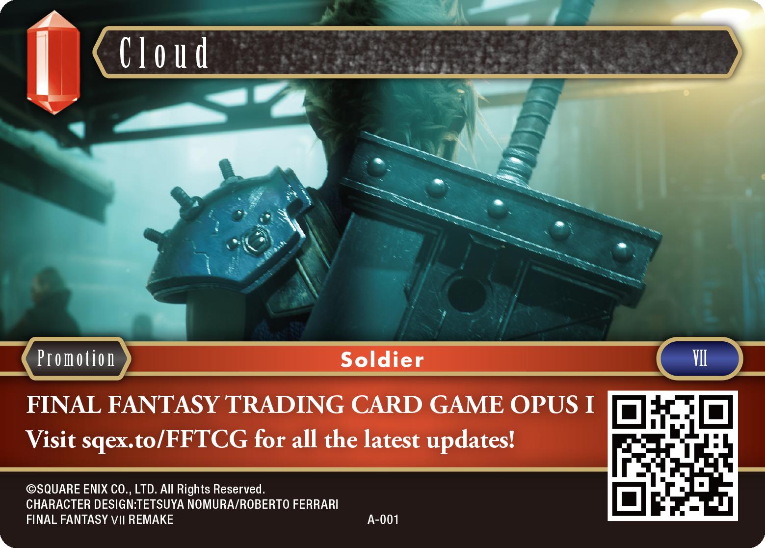 FFTCG Promo Cards
